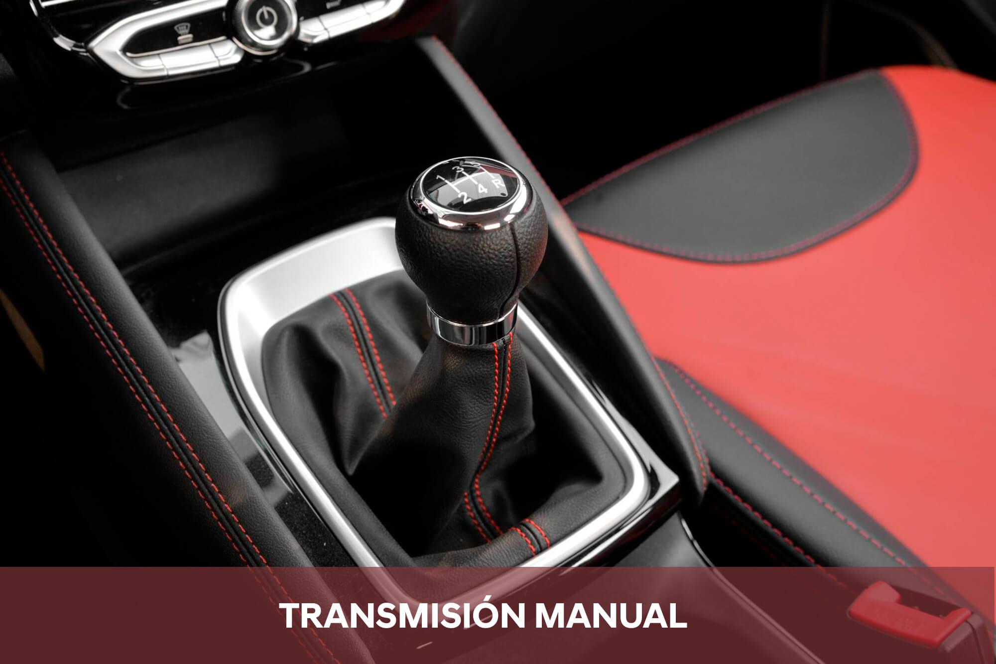 Transmisión de 5 velocidades manual