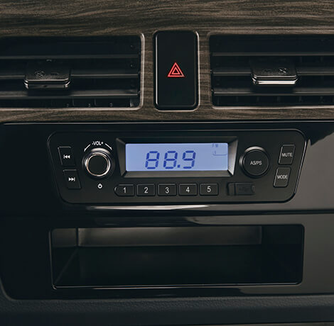 Radio AM/FM con MP3 y USB